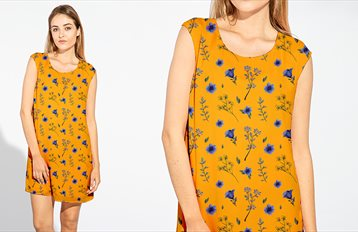 dress-fashion printing